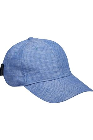 Scotch&Soda Classic cotton/linen 6-panel cap seaside blue mela