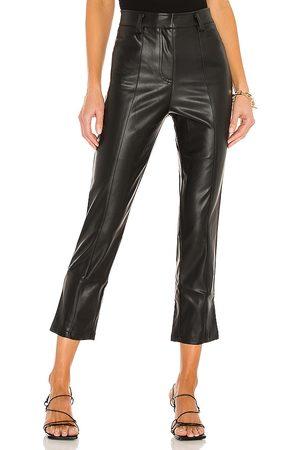 LBLC The Label Jen Vegan Leather Trouser in