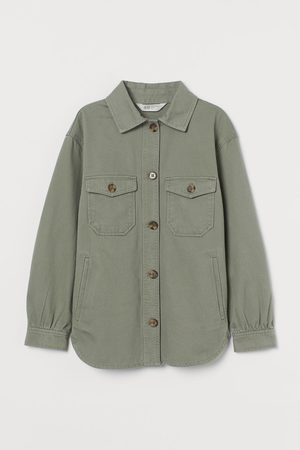 H&M Meisjes Korte jassen - Hemdjas van keper