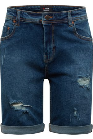 Denim Project Heren Shorts - Jeans 'Mr. Orange