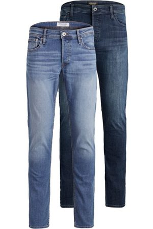 Jack & Jones Heren Slim - 2-pack Glenn Original Am Slim Fit Jeans Heren Blauw