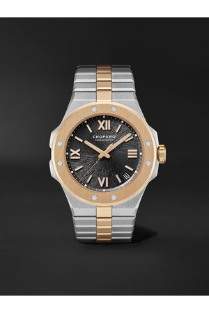 Chopard Heren Horloges - Alpine Eagle Large Automatic 41mm Lucent Steel and 18-Karat Rose Gold Watch, Ref. No. 298600-6001