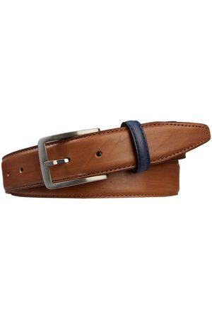 Profuomo Heren Riemen - Heren belt handpolished cognac