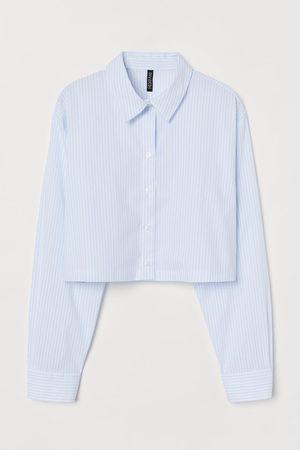 H&M Boxy hemd van katoen