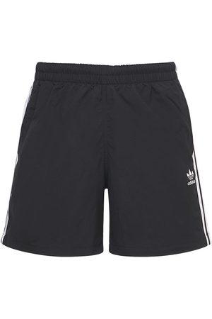 ADIDAS ORIGINALS Heren Shorts - Primegreen 3-stripe Tech Swim Shorts