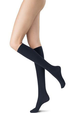 Oroblu Dames Panty's - Panty kniekous all colors cotton