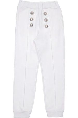 Balmain Cotton Sweatpants W/ Buttons