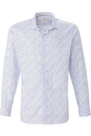 Olymp Overhemd van 100% katoen minimal-dessin