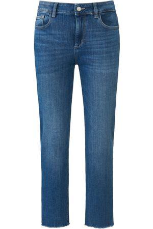 DL1961 7/8-jeans Daydream model Mara Straight Mid Rise Van denim