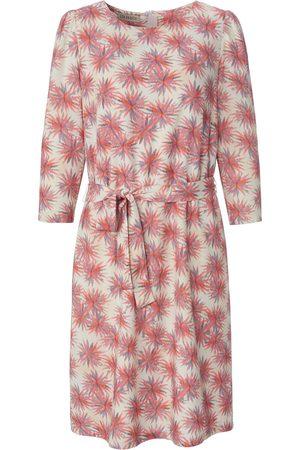 Uta Raasch Dames Geprinte jurken - Jurk 3/4-mouwen en bloemenprint multicolour