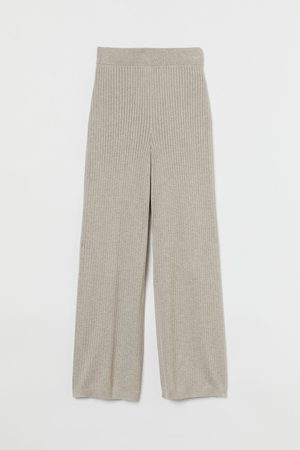 H&M Dames Homewear - Ribgebreide broek