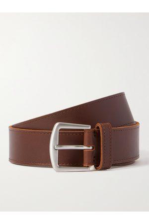 Loro Piana Heren Riemen - 3.5cm Leather Belt