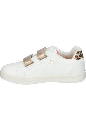Geox Skylin Girl White/Fluo Fuchsia Klittenbandschoenen