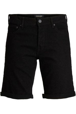 Jack & Jones Heren Shorts - Rick Original Na 029 Denim Short Heren Zwart