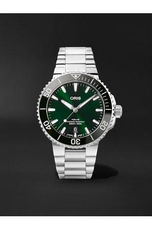 Oris Heren Horloges - Aquis Date Automatic 41.5mm Stainless Steel Watch, Ref. No. 01 733 7766 4157-07 8 22 05PEB