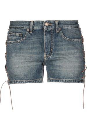 Saint Laurent Dames Shorts - DENIM - Denim shorts