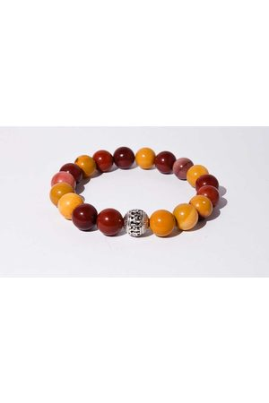 Mr.FRILL Mr. frill handmade bracelet yolk stone red yellow
