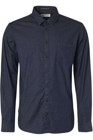 No Excess Shirt long sleeve chambray stretch night