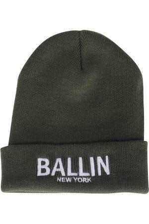 Ballin Unisex muts army wit geborduurd