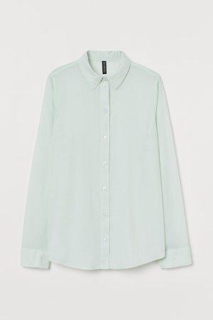 H&M Dames Blouses - Katoenen hemd