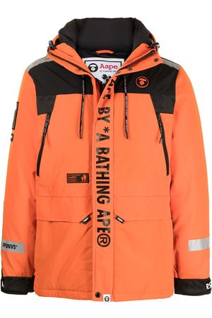 AAPE BY A BATHING APE Hooded padded coat