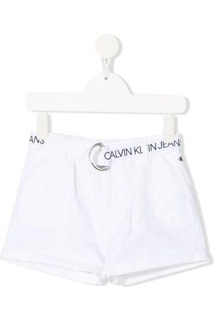Calvin Klein Belted-waist shorts