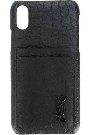 Saint Laurent Embossed fashion iPhone 10 case