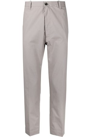 Nine In The Morning Pierre mid-rise cropped chinos