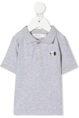 BONPOINT Dog badge polo shirt