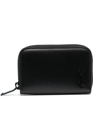 Saint Laurent Heren Portemonnees - Zipped leather wallet