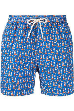 MC2 SAINT BARTH Happy hour print swim shorts