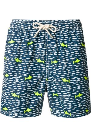 MC2 SAINT BARTH Shark print swim shorts