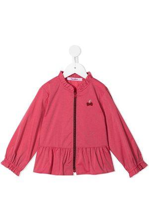 Familiar Meisjes Bomberjacks - Ruffle-trim jacket