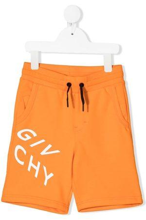 Givenchy Shorts - Logo print drawstring shorts