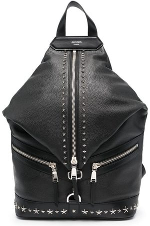 Jimmy Choo Fitzroy star-studded backpack