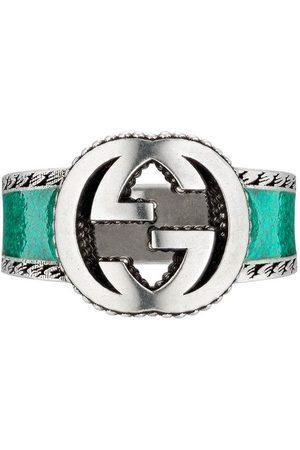 Gucci Interlocking G band ring
