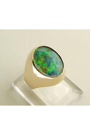 Casio Dames Ringen - Gouden ring met opaal