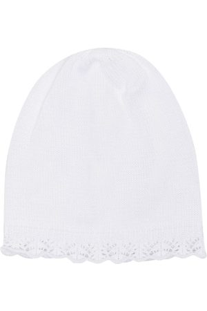 SIOLA Scallop-hem knitted beanie