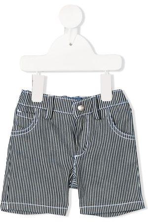 FAY KIDS Stripe print shorts