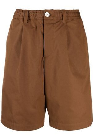 Marni Wide-leg cotton shorts