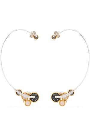 AKANSHA SETHI 14kt yellow diamond Cloud ear cuffs