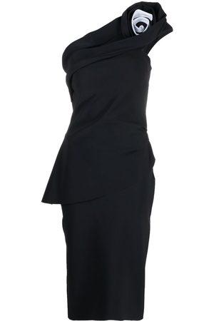 CHIARA BONI One-shoulder mid dress