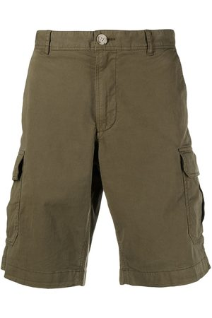 Woolrich Knee-length cotton cargo shorts