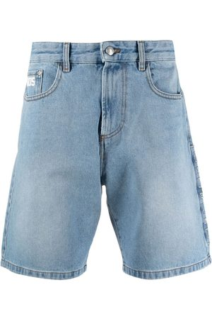 GCDS Heren Shorts - Wide-leg denim shorts