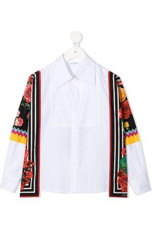Dolce & Gabbana Scarf-detail shirt