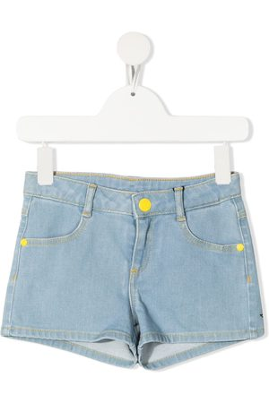 The Marc Jacobs Snoopy-print mid-rise denim shorts