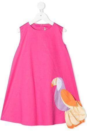 Il gufo Toucan motif dress