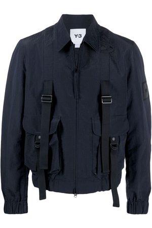 Y-3 CH2 sporty seersucker jacket