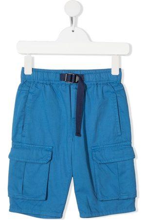 Stella McCartney Shorts - Buckle-fastening multiple-pocket shorts