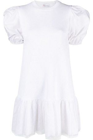 RED Valentino Puff sleeve knitted dress